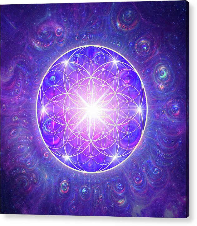 Flower of Life - Acrylic Print
