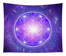Load image into Gallery viewer, Flower of Life - Tapestry