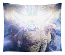 Load image into Gallery viewer, GANESHA Electric Wisdom - Tapestry