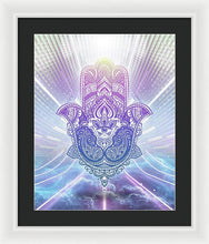 Load image into Gallery viewer, Hamsa - Framed Print