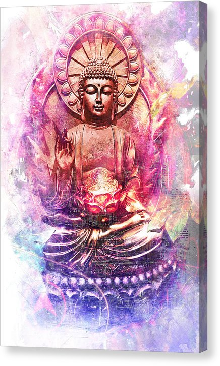 Lord Buddha - Canvas Print