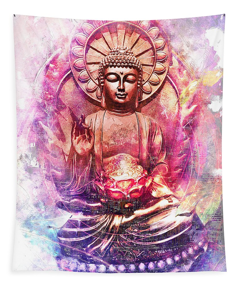 Lord Buddha - Tapestry