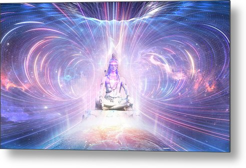 LORD SHIVA The Eternal Realm - Metal Print