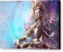 Load image into Gallery viewer, Sacred Green Tara - Canvas Print
