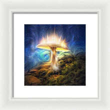 Load image into Gallery viewer, The Sacred Mushroom - Framed Print