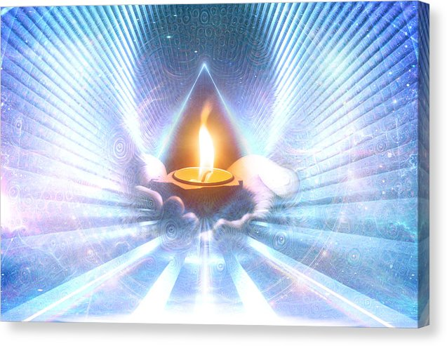 The Sacred Communion - Canvas Print