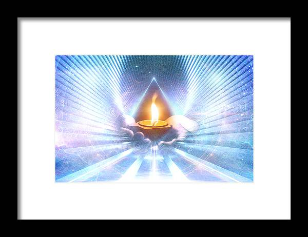 The Sacred Communion - Framed Print