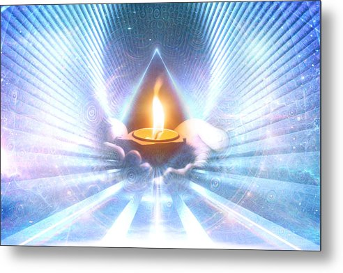 The Sacred Communion - Metal Print
