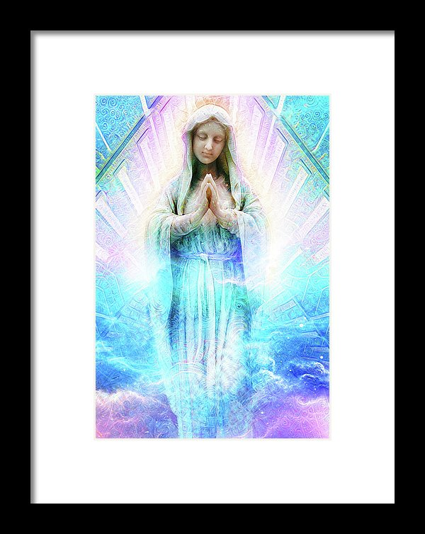 Virgin Mary - Framed Print