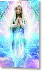 Virgin Mary - Metal Print