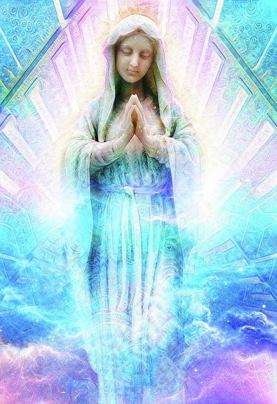 Virgin Mary - Art Print