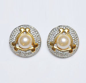 Pearl Eye Earrings