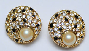 Tigresse strass earrings