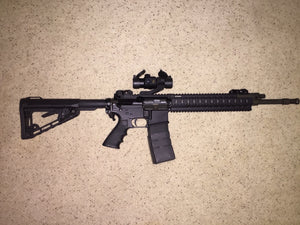 AR M-4 carbine with optic sight- Rental