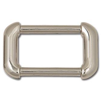 Rounded Strap Rings Nickel Plate