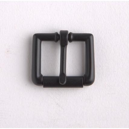 Roller Strap Buckle 3/4In Black/Nf