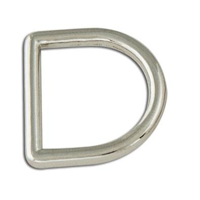 Decorative Solid D-Rings Nickel Free Plate
