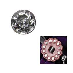Synthetic Crystal Rivets 10 Pack