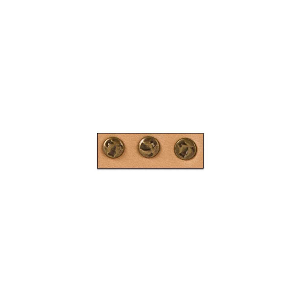 Hammered Rivets Nickel Free 100 Pack
