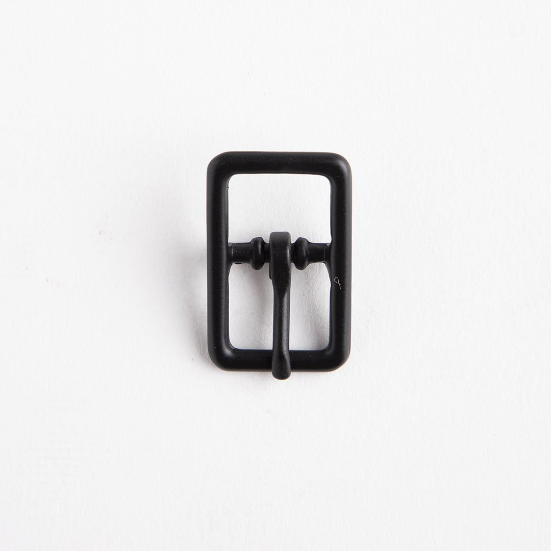 Center Bar Buckle 1/2 In Black/Nf