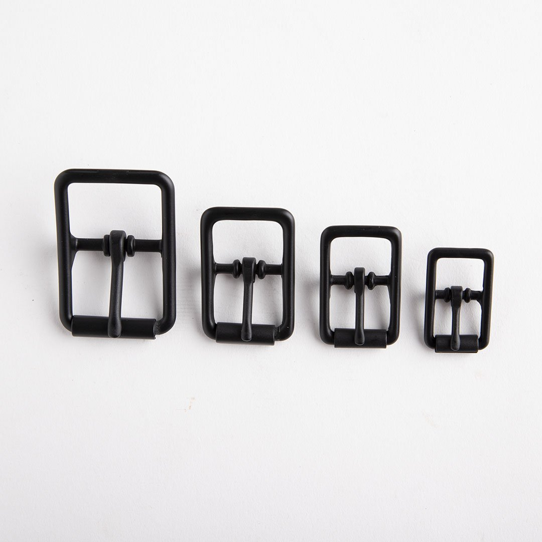 C Bar Buckle With Roller 3/4 In Black/Nf