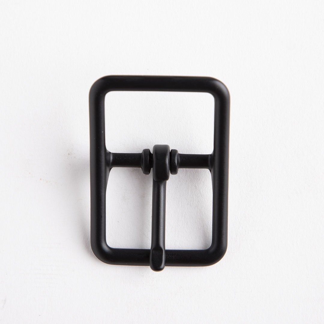 C Bar Buckle With Roller 1 In Black/Nf