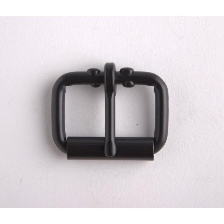 Roller Buckle 1-1/2 In Black/Nf