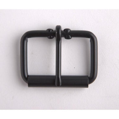 Roller Buckle 3/4 In Black/Nf