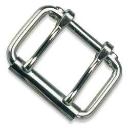 Two-Prong Roller Buckles-Nickel Plated