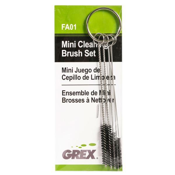 Grex Mini Cleaning Brush Set