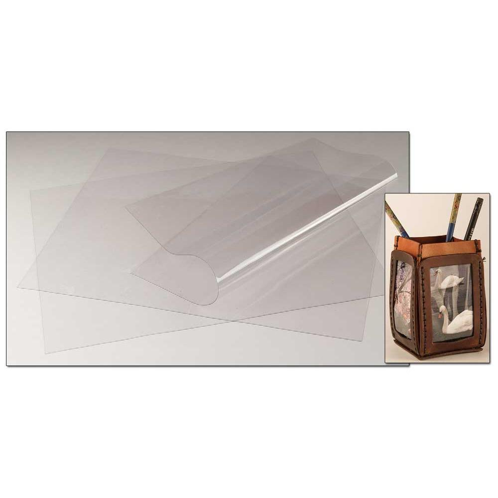 Clear Plastic Sheets 3 Pack