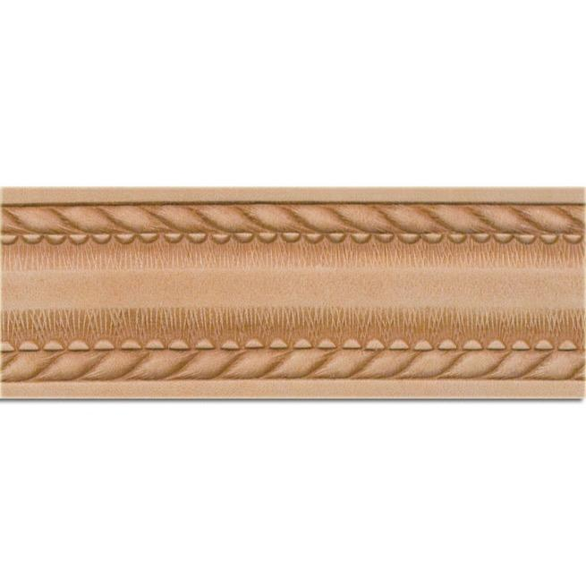 "Embossed Rope Edge Belt Blank 1-1/2"" (38 mm) X 42"""