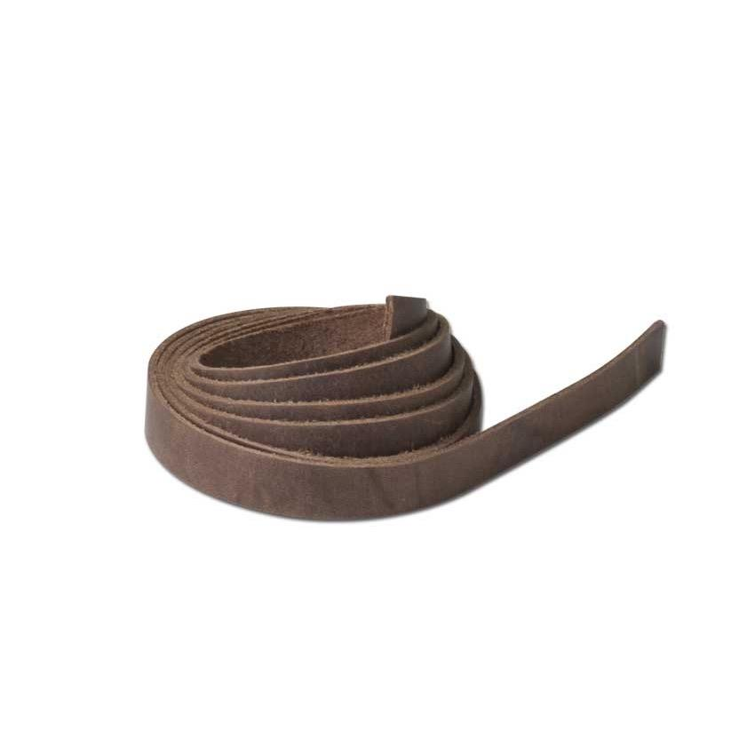 "final sale Leather Strings 1/2"" X 48"" (13 X 1.2 m)"