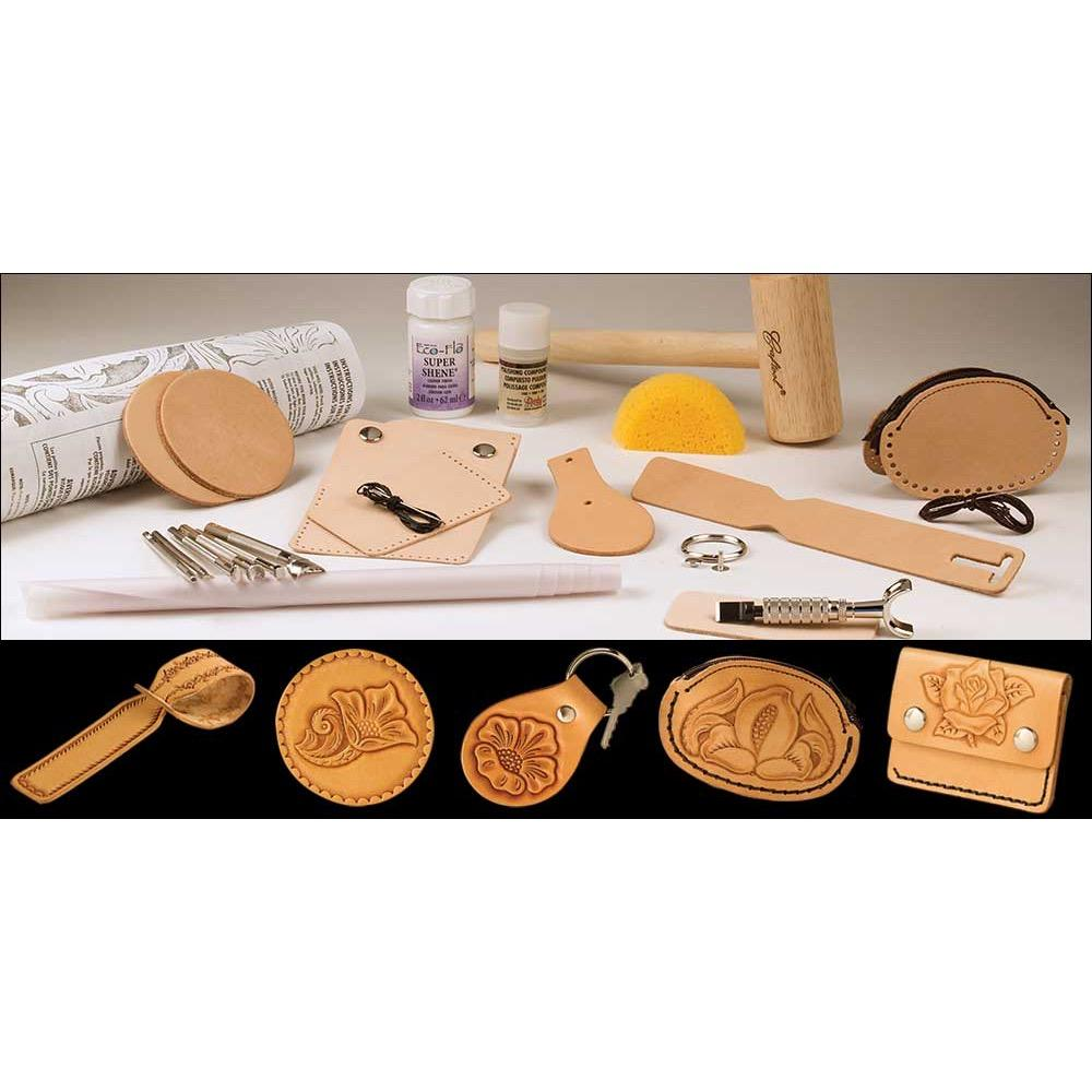 Basic Carving Leathercraft Set