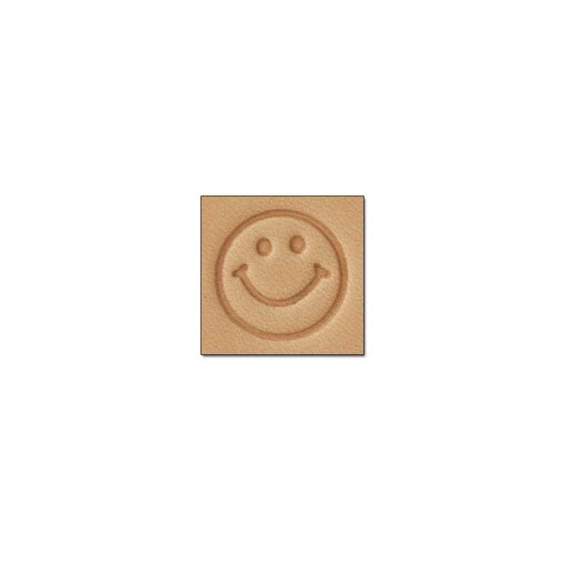 E676 Happy Face Craftool® Stamp