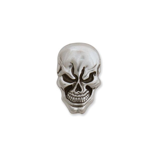 "Skull Concho Screwback 11/16"" X 1-1/8"" (17.4 X 28.5 mm)"