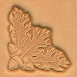 Oak Leaf Corner Craftool® 3-D Stamp