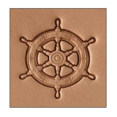 Craftool® 3-D Stamp Ships Wheel