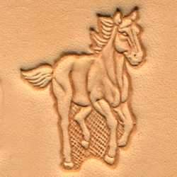 Running Horse Craftool® 3-D Stamp