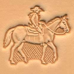 Horse & Rider Craftool® 3-D Stamp