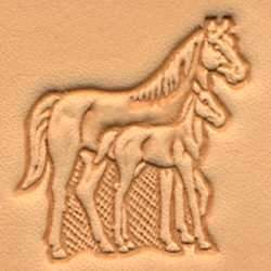 Mare & Colt Craftool® 3-D Stamp