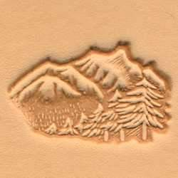 Mountains & Trees Craftool® 3-D Stamp