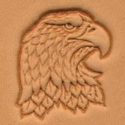 Eagle Head Craftool® 3-D Stamp (Right)