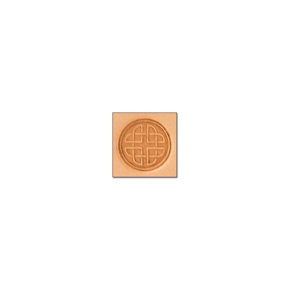 Craftool® Mini 3-D Stamp Celtic Disc
