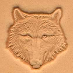 Wolf Head Craftool® 3-D Stamp