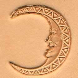 Moon Face Craftool® 3-D Stamp