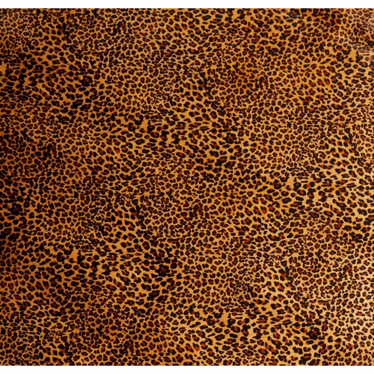 Hair-On Side Leopard Mini Print