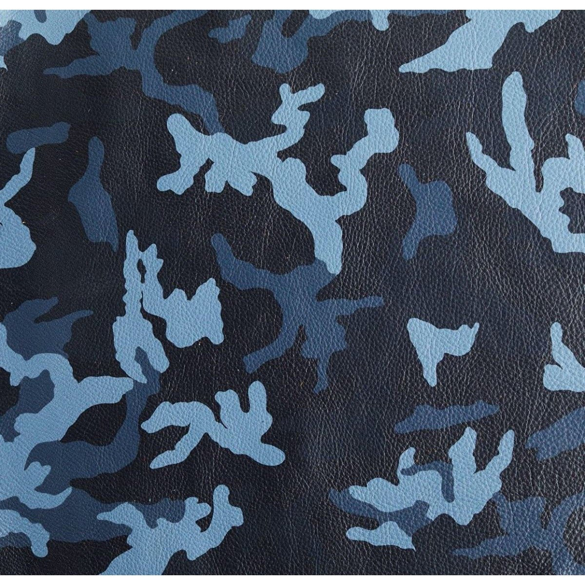 Camo Print Craft Cut 8.5X11 Navy