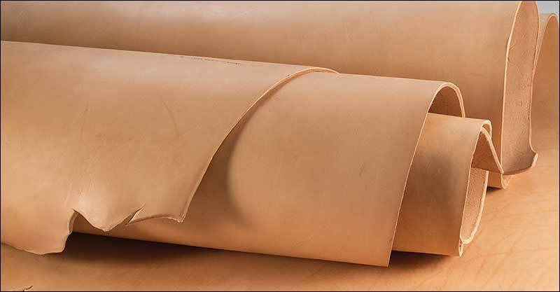 Oak-Leaf Veg-Tan Leather