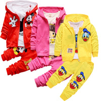 Autumn Baby Girls Boys Clothes Sets